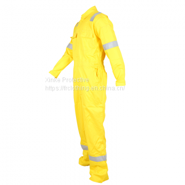 Safety Reflective Used Men Mechanic Coverall