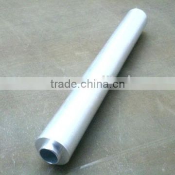 Industrial Hollow Aluminium Silver Anodized Profiles
