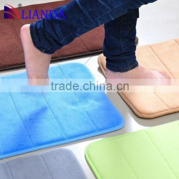 Hotsell!!! factory direct sell anti slip shower mat/ customed memory foam bath mat/ anti slip shower mat CE certificate