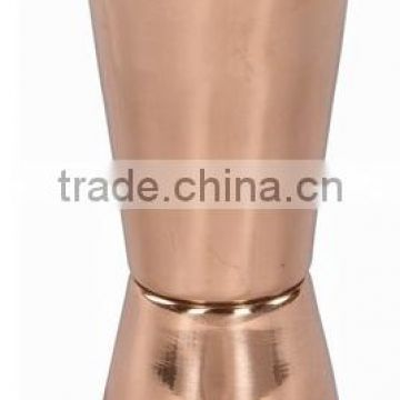 BPA FREE 100% PURE COPPER JIGGER SHOT GLASS, SOLID COPPER MEASURING JIGGERS