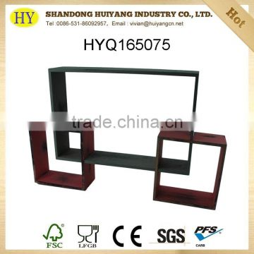 FSC custom wooden wall display wholesale