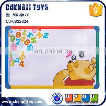 Kids educational writing toy erasable magnetic drawing board