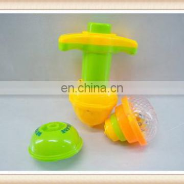 kids Flashing Plastic spinning top