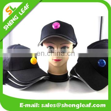 2017 hot sale hard hat LED Light camp outdoor sports baseball Cap