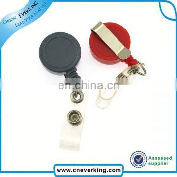 Hot sale cheap retractable string keychain reels wholesales