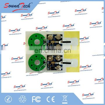 Sound ic chip for electronic greeting cards