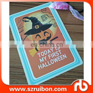Milestone -Halloween Baby Photo Cards- Set of 36 Photo Cards to Capture your Baby's First Year in Weeks, Months, and Memorable