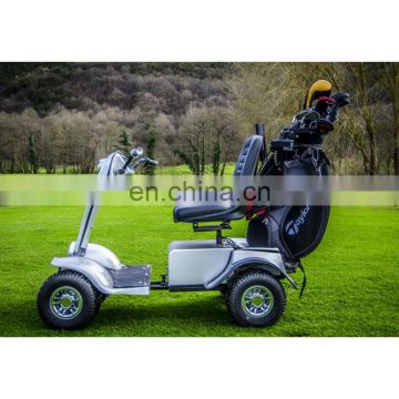 Brand new two seaters electric golf cart, mini electric club cart, utility electric car with CE certificate | AX-A4