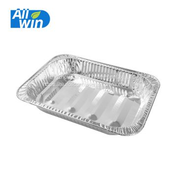Recyclable aluminum foil turkey pan baking trays price