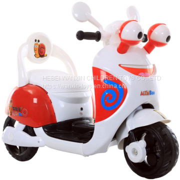 Factory Cheap Children Electric Motorcycle Kids Mini Electric Motorcycle