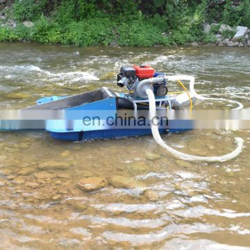 Full Sets Gold mining basic sifting machine with gas engine
