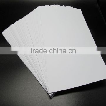 Factory Price 110gsm Doule Side Matte Photo Paper with Sheet Size