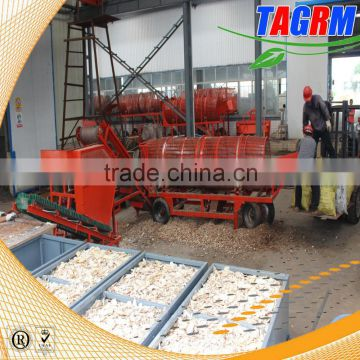 Widely industrial used cassava starch processing machinery/cassava peeler and slicer 0086-13471174049