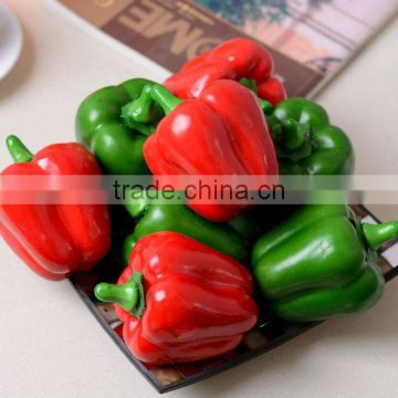 Faux Fake Artificial Pepper Vegetable