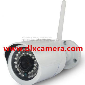 DLX-WFLB13 1280x960P Outdoor Weather-proof Wireless WI-FI IP IR Bullet Camera With Tri-Axis bracket