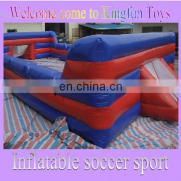 2014 inflatable bumper soccer bubble yard/ inflatable bubble football arena