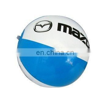 PVC / TPU inflatable beach ball for promotion