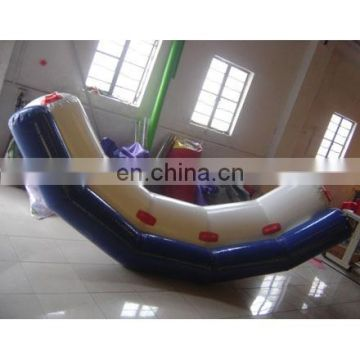inflatable water teeter totter for water sports toy