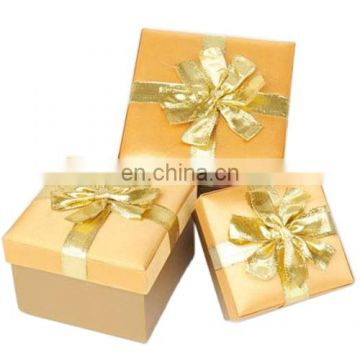 High-grade Paper Golden Bow Christmas Gift Set