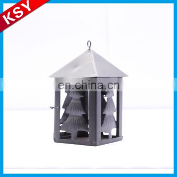 Best Brand Mass Supply Decorative Stand Handicraft Lantern Rounded Garden Metal Candle Holders With Glass