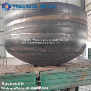 Bulkhead Forming tank head forming machine/steel tank head