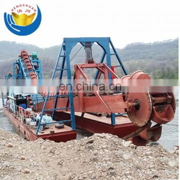 High efficient small gold suction dredger/mini gold dredge for sal