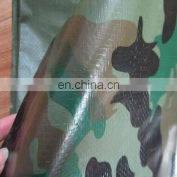 popular outdoor color printed pe camouflage tarpaulin sheet