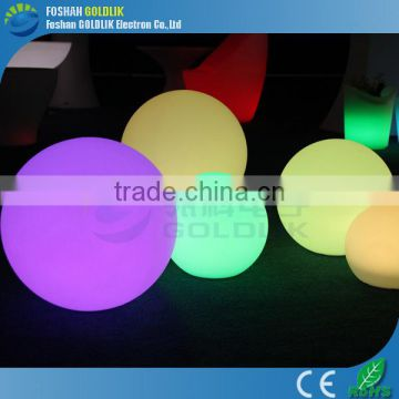 Color changing led dancing ball for outdoor garden decorations GKB-050RT