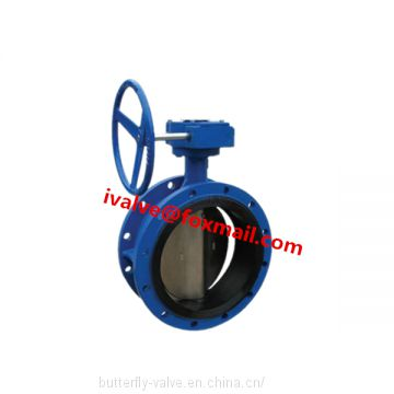 Resilient Seated Double Flanged Butterfly Valve
