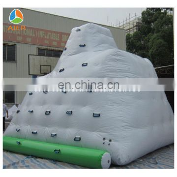 Inflatable floating island water park