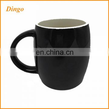 Best selling high quality custom round printed colorful ceramic coffee mugs white porcelain mugs