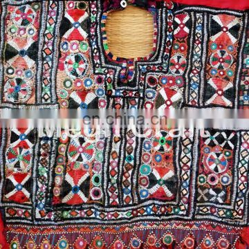 Banjara Gypsy Fabric yoke Neck Patches- Vintage Kutch Yock Neck Patch - Handmade Fabric Yock Neck-