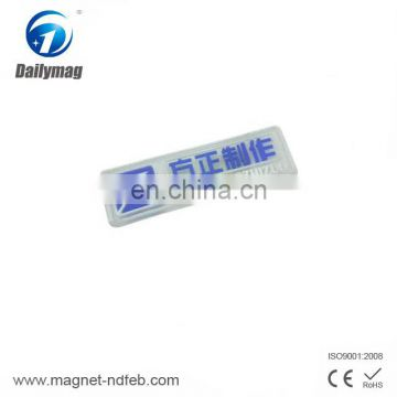 Promotion high quality custom led badge holder