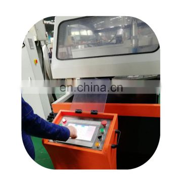 Automatic OYT 5-axis aluminum profile double-head sawing machine(German type)