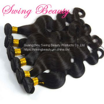 100% Virgin Human Hair Weaving Bundle Extensions