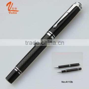 Black metal ball pen for promotional fancy stationary                                                                         Quality Choice