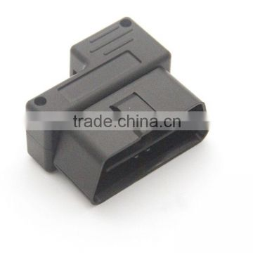 obd case and plug for diagnostic plastic housing obd2 enclosure facotry low price whole sales
