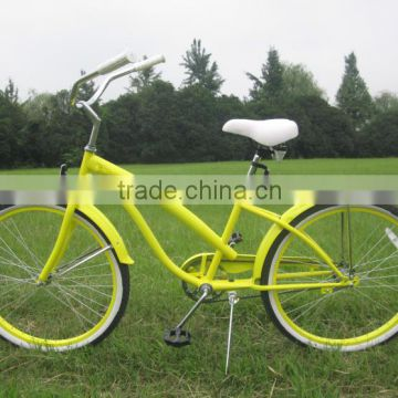 Colorful 26 inch specialized beach cruiser bike/ vintage bicycle series