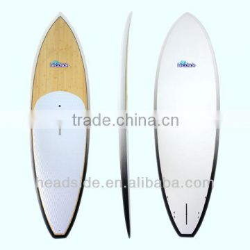 New Surfing Products 10' Bamboo Veneer SUP EPS Stand Up Paddle Board