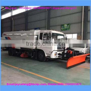 Road Sweeping And Cleaning Truck With Snow Cleaning/CCD