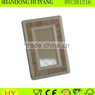 custom decorative wood photo frame wholesale