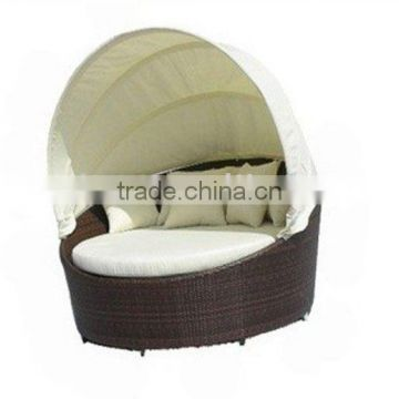 Round Outdoor Bed