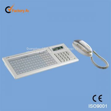 Wired Nurse Calling & Intercom System Host Machine - Keyboard Type