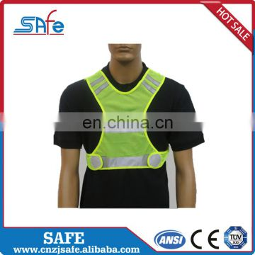 ANSI.MESH reflective clothing with 3m stripes tape for sale
