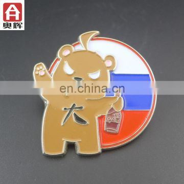 Zhongshan iron souvenir waterproof badge holders