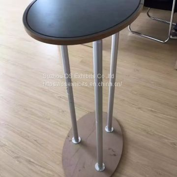 Fabric promotor table Curved
