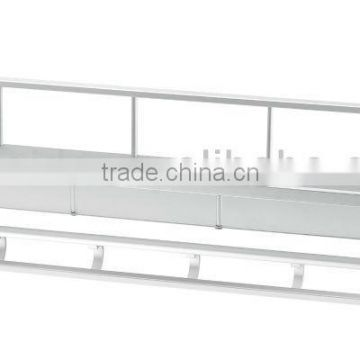 Hot sell Aluminium kitchen rack kitchen shelf,hanging rack L09-14-6D