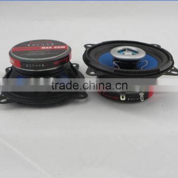 Universal 4 inch auto coaxial car audio speakers