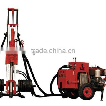 Portable Airdraulic DTH Drilling rig HFY90 portable drilling rig