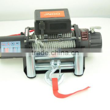 4310kg/9500lbs rated pull car trailer winch with efficient gear ratios